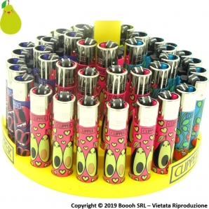 CLIPPER LARGE SPRING CRAZY FRUITS - CONFEZIONE DA 48 ACCENDINI GRANDI 33,99 €