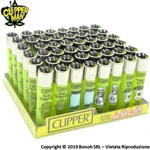 CLIPPER LARGE THINK GREEN M - CONFEZIONE DA 48 ACCENDINI GRANDI 33,99 €