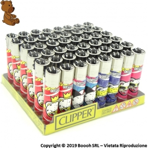 CLIPPER LARGE BAD BEARZ PART 2 - CONFEZIONE DA 48 ACCENDINI GRANDI 33,99 €
