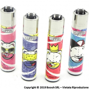 CLIPPER LARGE BAD BEARZ PART 2 - SERIE COMPLETA DA 4 ACCENDINI GRANDI DA COLLEZIONE 3,19 €