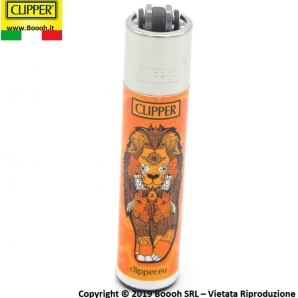 CLIPPER LARGE ANIMAL MANDALA - CONFEZIONE DA 48 ACCENDINI GRANDI 33,99 €