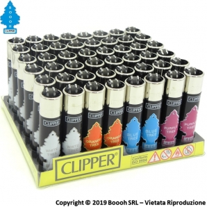 CLIPPER LARGE COLOR TREES ''ARBRE MAGIQUE'' - CONFEZIONE DA 48 ACCENDINI GRANDI 33,99 €