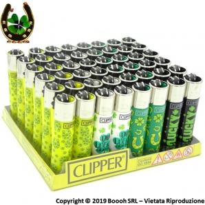 CLIPPER LARGE LUCKY M - CONFEZIONE DA 48 ACCENDINI GRANDI 33,99€