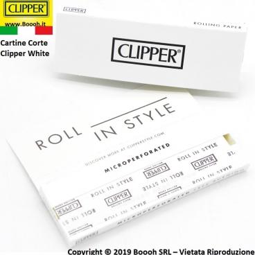 CARTINE CLIPPER BIANCHE CORTE SINGOLE - LIBRETTI SINGOLO WHITE