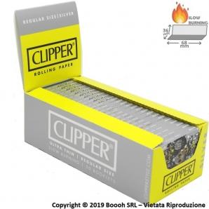 CARTINE CLIPPER SILVER CORTE - CONFEZIONE DA 50 LIBRETTI 13,14€