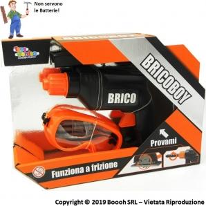 TRAPANO GIOCATTOLO BRICOBOY - FUNZIONA A FRIZIONE ( NO BATTERIE) - OTTIMA IDEA REGALO 8,99€