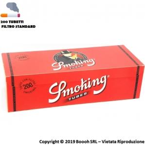 SMOKING TUBETTI CON FILTRO - BOX DA 200 SIGARETTE VUOTE 1,67€