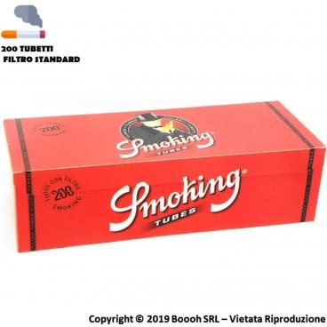 SMOKING TUBETTI CON FILTRO - BOX DA 200 SIGARETTE VUOTE