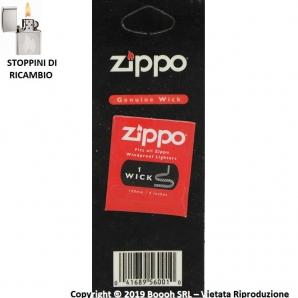 ZIPPO STOPPINO DI RICAMBIO PER ACCENDINI ZIPPO - WICK DA 100MM 1,39€