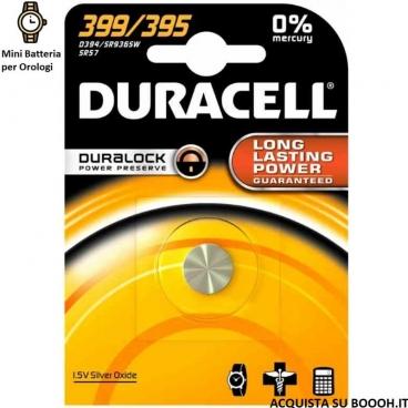 DURACELL 399 / 395 OSSIDO DI ARGENTO 1,5V - BLISTER DA 1 BATTERIE
