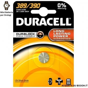 DURACELL 389/390 OSSIDO DI ARGENTO 1,5V - BLISTER DA 1 BATTERIA