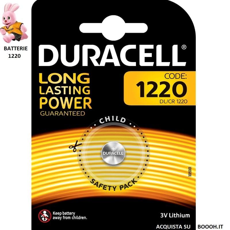 DURACELL DL 1220 LITHIUM 3V - BLISTER DA 1 BATTERIA 1,30€