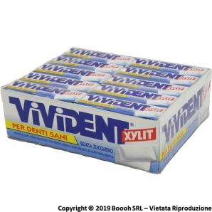 VIVIDENT XYLIT SPEARMINT BLU CHEWING GUM - GOMME DA MASTICARE | CONFEZIONE DA 40 STICK 31,68€