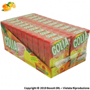 GOLIA C CARAMELLE AGRUMATE ALLA FRUTTA E SENZA ZUCCHERO - CONFEZIONE DA 20 ASTUCCI 29,98 €