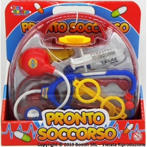 SET VALIGETTA DOTTORE IN BOX: KIT CON OCCHIALI E ACCESSORI 12,79 €