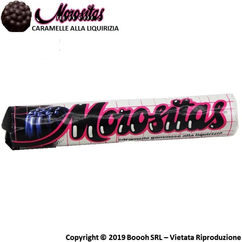 MOROSITAS CARAMELLE GOMMOSE LIQUIRIZIA - STICK SFUSI 0,99€