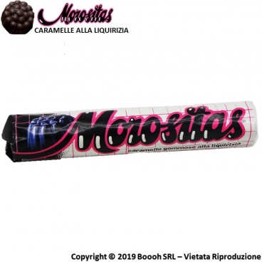 MOROSITAS CARAMELLE GOMMOSE LIQUIRIZIA - STICK SFUSI