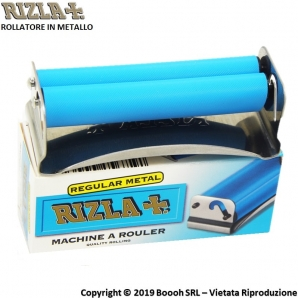 RIZLA ROLLATORE METALLO MACCHINETTA MANUALE PER ROLLARE CARTINE CORTE - REGULAR METAL ROLLING MACHINE 4,99 €