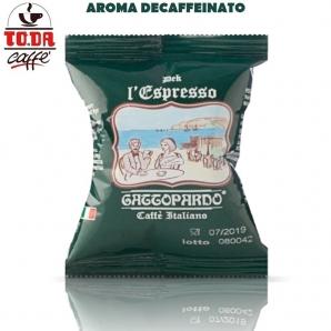50 CAPSULE TO.DA CAFFE' IL MIO GATTOPARDO QUALITA' DEK DECAFFEINATO - COMPATIBILI SISTEMI NESPRESSO 10,99€