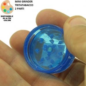 TRITATABACCO GRINDER PLASTICA RIGIDA DIAMETRO ø 3,0 - 2 PARTI - 1 PEZZO 2,98€