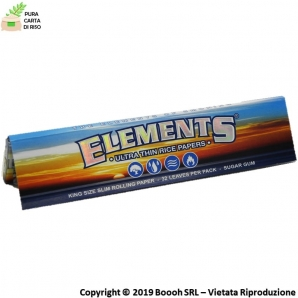 CARTINE ELEMENTS KS SLIM LUNGHE - LIBRETTO SINGOLO 0,79 €