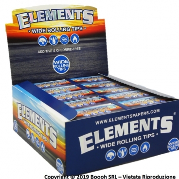 FILTRI IN CARTA ELEMENTS CLASSICI - BOX DA 50 BLOCCHETTI