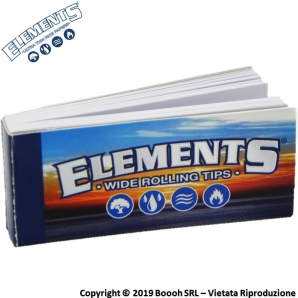 FILTRI IN CARTA ELEMENTS CLASSICI - BLOCCHETTO SINGOLO TIPS WIDE 0,31 €