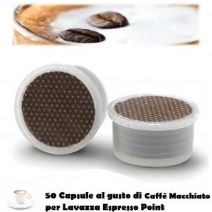 CAPSULE CAFFE' MACCHIATO ITALDRINKS COMPATIBILI LAVAZZA ESPRESSO POINT - 1 CONFEZIONE DA 50 CAPSULE 11,89€