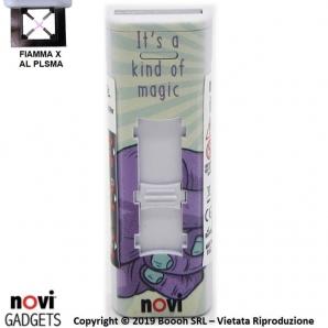 ACCENDINO NOVI IXNITE MAGIC MUSHROOMS - RICARICABILE USB E ACCENSIONE FIAMMA AL PLASMA X | IDEA REGALO 15,39€