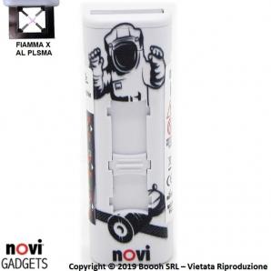 ACCENDINO NOVI IXNITE SPACEMAN - RICARICABILE USB E ACCENSIONE FIAMMA AL PLASMA X | IDEA REGALO 15,39€