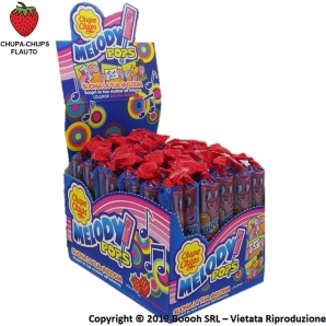 CHUPA CHUPS LECCA LECCA MELODY POPS LOLLIPOP AROMA FRAGOLA CON GIOCO FISCHIETTO - DISPLAY DA 48 PZ 27,74 €
