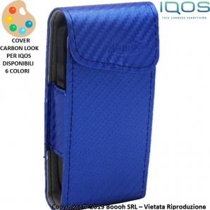 CUSTODIA PORTA IQOS MORRIS - COVER CARBON LOOK EFFETTO CARBONIO : COLORI ASSORTITI | OTTIMA IDEA REGALO FUMATORE 4,99€