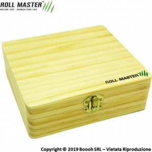 ROLL MASTER LARGE STATION SPLIFF BOX - STAZIONE DI ROLLAGGIO PROFESSIONALE IN LEGNO 15,53 €