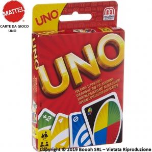 CARTE DA GIOCO UNO - SINGOLO MAZZO REGOLARE DA 112 CARTE | DIVERTENTE GIOCO DA TAVOLO 10,49€