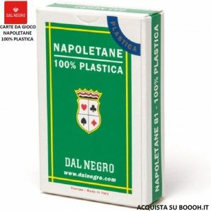 CARTE DA GIOCO NAPOLETANE DELLA DAL NEGRO - MADE IN ITALY | MAZZO REGOLARE DA 40 CARTE ORIGINALI SERIE N.81 6,79€