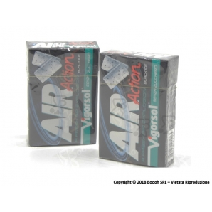 VIGORSOL AIR ACTION BLACK ICE CHEWING GUM - ASTUCCI SFUSI 1,69 €