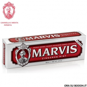 MARVIS DENTIFRICIO IN PASTA DENTIFRICIA CINNAMON MINT CANNELLA E MENTA PIPERITA - TUBETTO ROSSO DA 85 ML 4,19 €