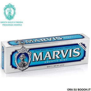 MARVIS DENTIFRICIO IN PASTA DENTIFRICIA ACQUATIC MINT MENTA DOLCE E FREDDA - TUBETTO AZURRO DA 85 ML 4,19 €