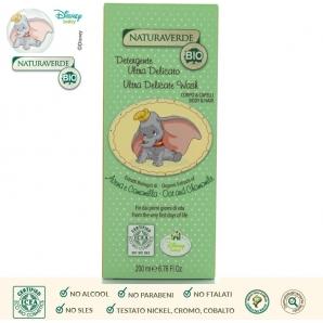 NATURAVERDE BIO DETERGENTE BIMBI CORPO & CAPELLI ULTRA DELICATO FIN DAI PRIMI GIORNI - 200 ML 4,99€