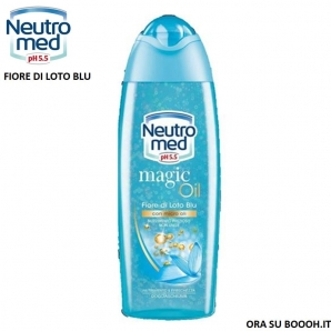 NEUTROMED DOCCIASCHIUMA MAGIC OIL pH 5,5 PROFUMO FIORI DI LOTO - FLACONE DA 250 ML 2,89€