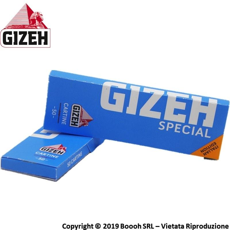 GIZEH CARTINE SPECIAL EXTRA FINE CORTE SINGOLE - LIBRETTI SFUSI 0,29€