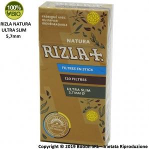 RIZLA FILTRI NATURA ULTRA SLIM 5,7MM - ASTUCCI SFUSI 0,99€