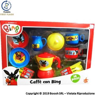 CAFFE' CON BING - SET GIOCHI DA CUCINA CON TANTI ACCESSORI ORIGINALI | SPEDIZIONE GRATUITA