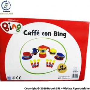CAFFE' CON BING - SET GIOCHI DA CUCINA CON TANTI ACCESSORI ORIGINALI | SPEDIZIONE GRATUITA 17,21€