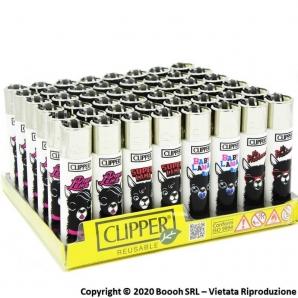 ACCENDINI CLIPPER LARGE ANIMALS LAMA - CONFEZIONE DA 48 ACCENDINI GRANDI RICARICABILI 45,99€