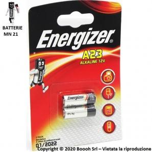 ENERGIZER PILE MN 21 BATTERIE A23 ALCALINE 12V - BLISTER DA 2 PILE 1,89€