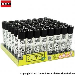 ACCENDINI CLIPPER HAND EYE AMSTERDAM EDITION BLACK&WHITE - COLLEZIONE OLANDESE | BOX DA 48 PEZZI RICARICABILI 45,99€