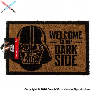 ZERBINO STAR WARS DART '' WELCOME TO THE DARK SIDE '' TAPPETINO DC COMICS ORIGINAL | IDEA REGALO 24,99 €