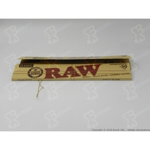 RAW CARTINE GIGANTI 12 POLLICI (INCH) 28CM KING SIZE - 1 LIBRETTO DA 20 CARTINE 2,82 €