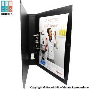 RACCOGLITORE ESSELTE REGISTRATORE DOCUMENTI DOX 5 FOGLI PROTOCOLLO DORSO 5 | COLORE NERO 8,39€